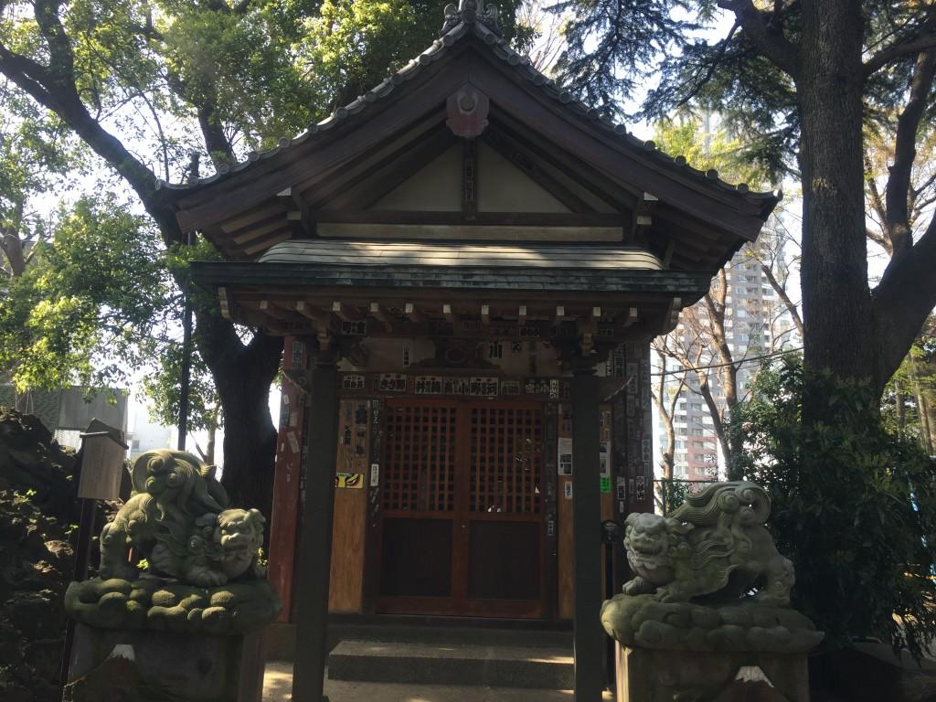 品川神社・富士塚 浅間神社