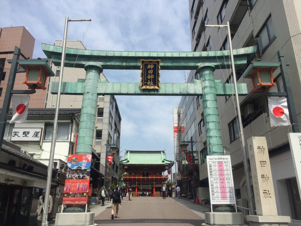 神田神社 鳥居