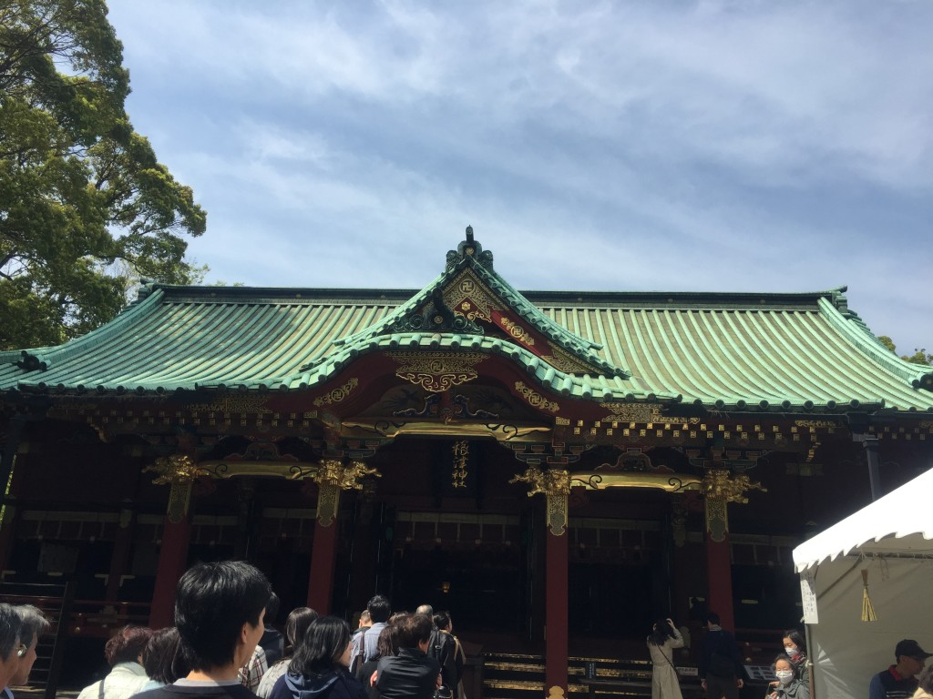 根津神社 本殿