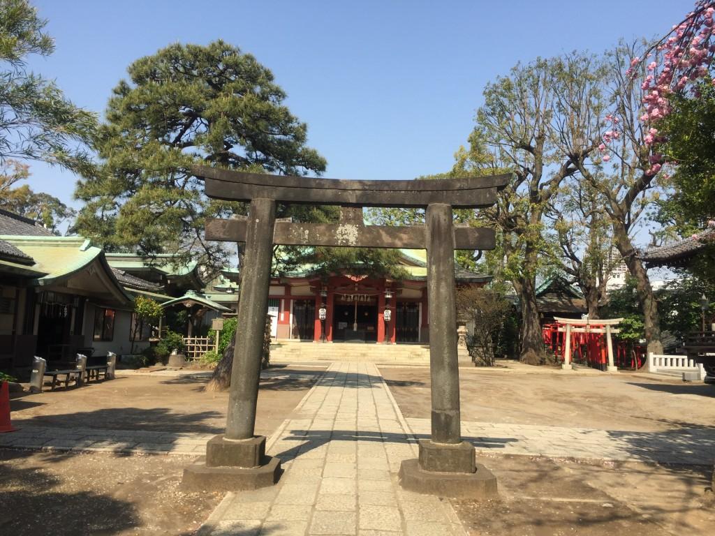 品川神社 本殿