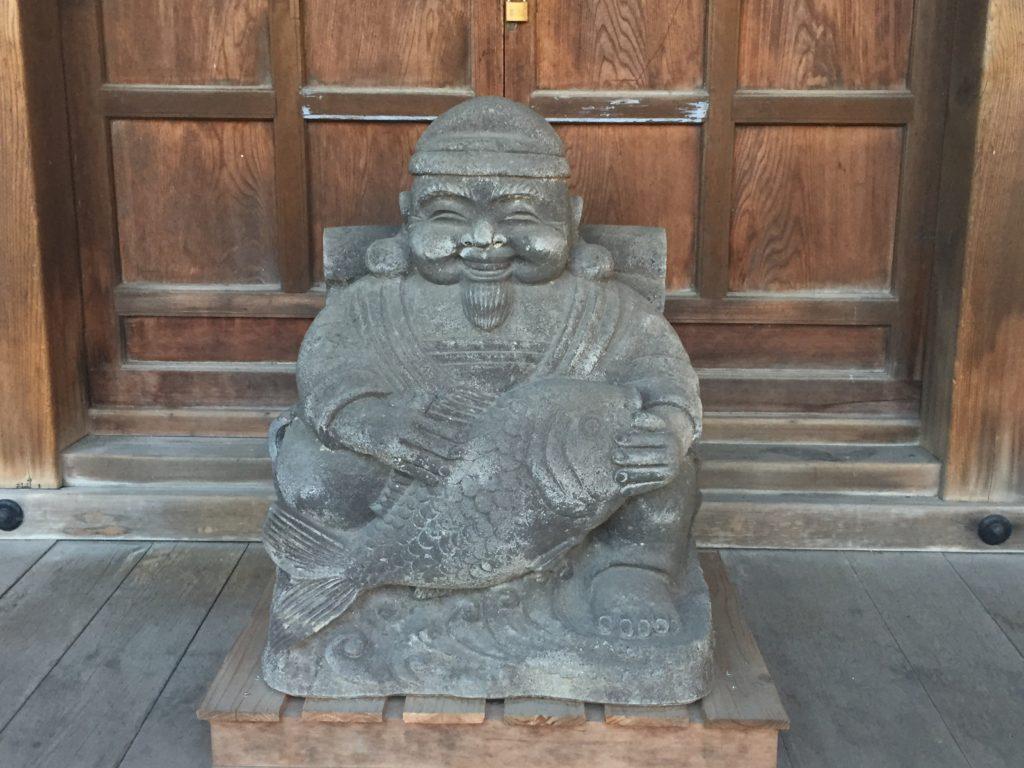 恵比寿像(山手七福神)
