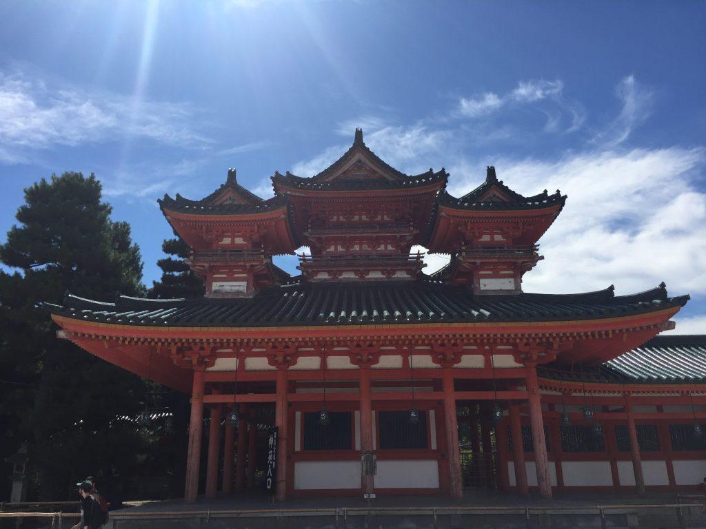 平安神宮 白虎楼