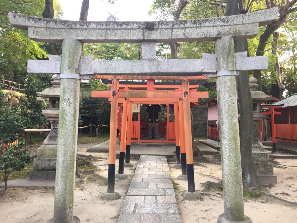 生国魂神社 稲荷神社