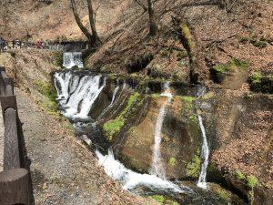 軽井沢・白糸の滝 遊歩道