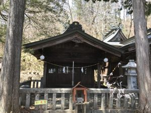 碓氷峠熊野神社 那智宮
