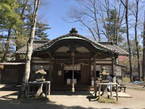 旧軽井沢諏訪神社 本殿