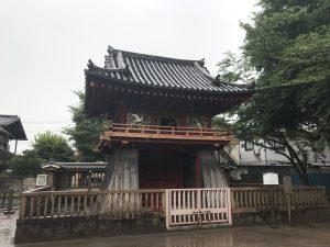喜多院(大黒天) 鐘楼門