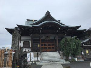 妙昌寺(弁財天) 本堂