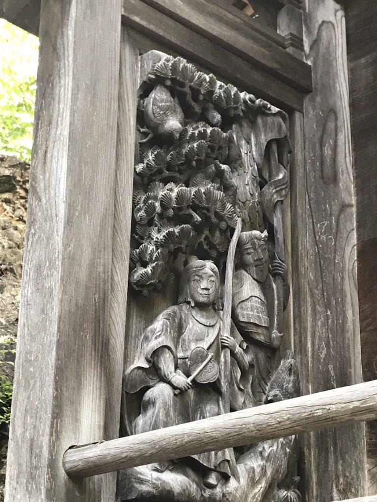 三島神社 本殿・側面1