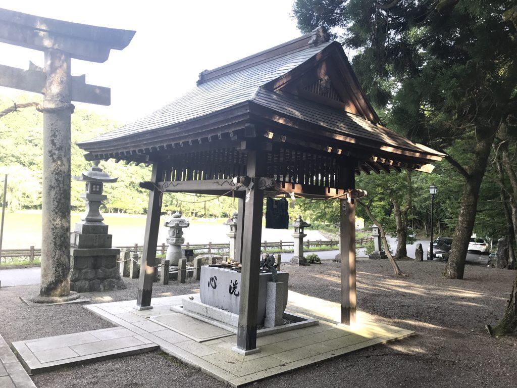 三島神社 手水舎