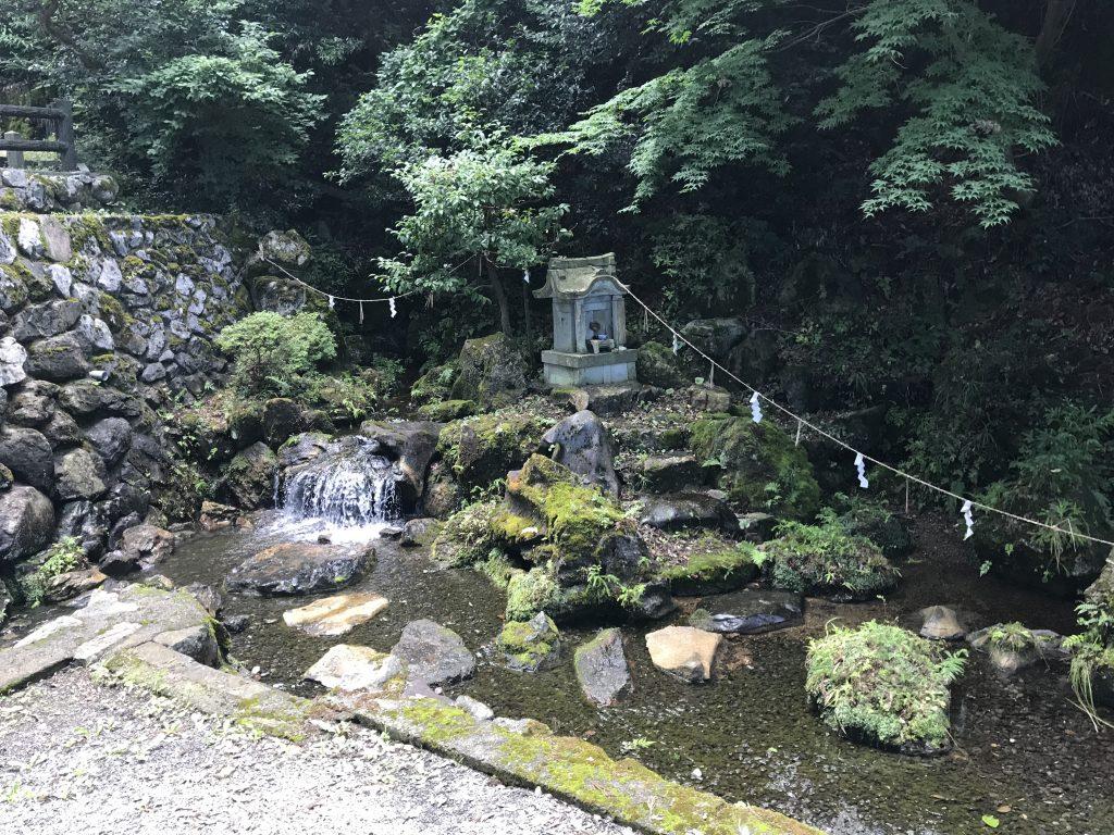 大清水泉神社 湧水池