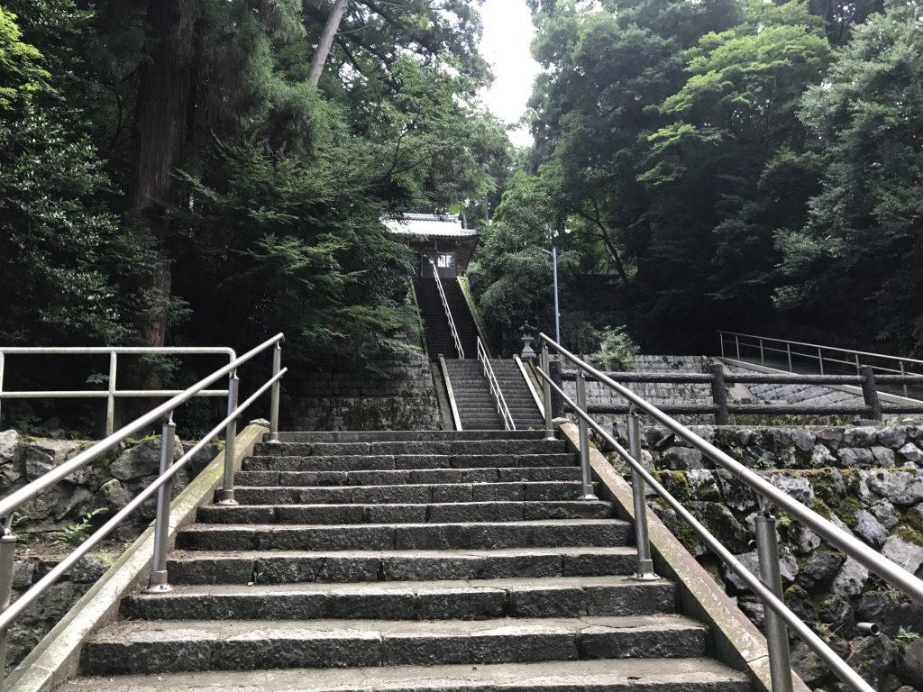 大清水泉神社 参道
