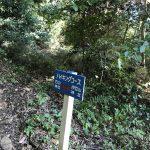 伊豆山神社 ハイキング標識01