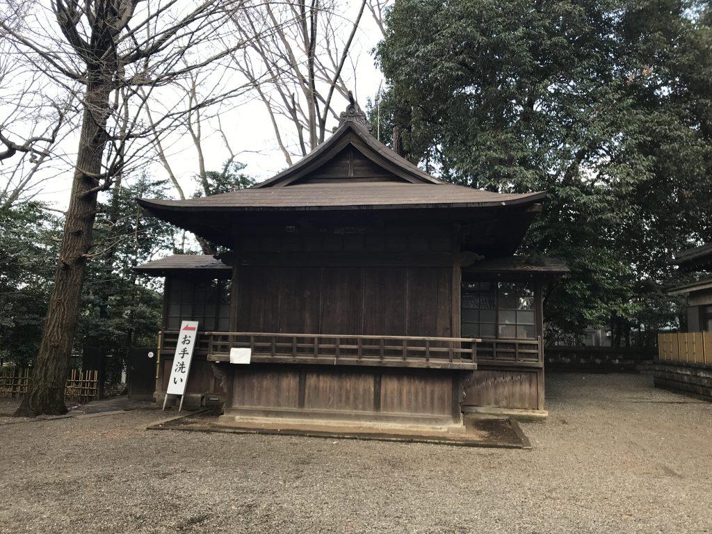 世田谷八幡宮 神楽殿