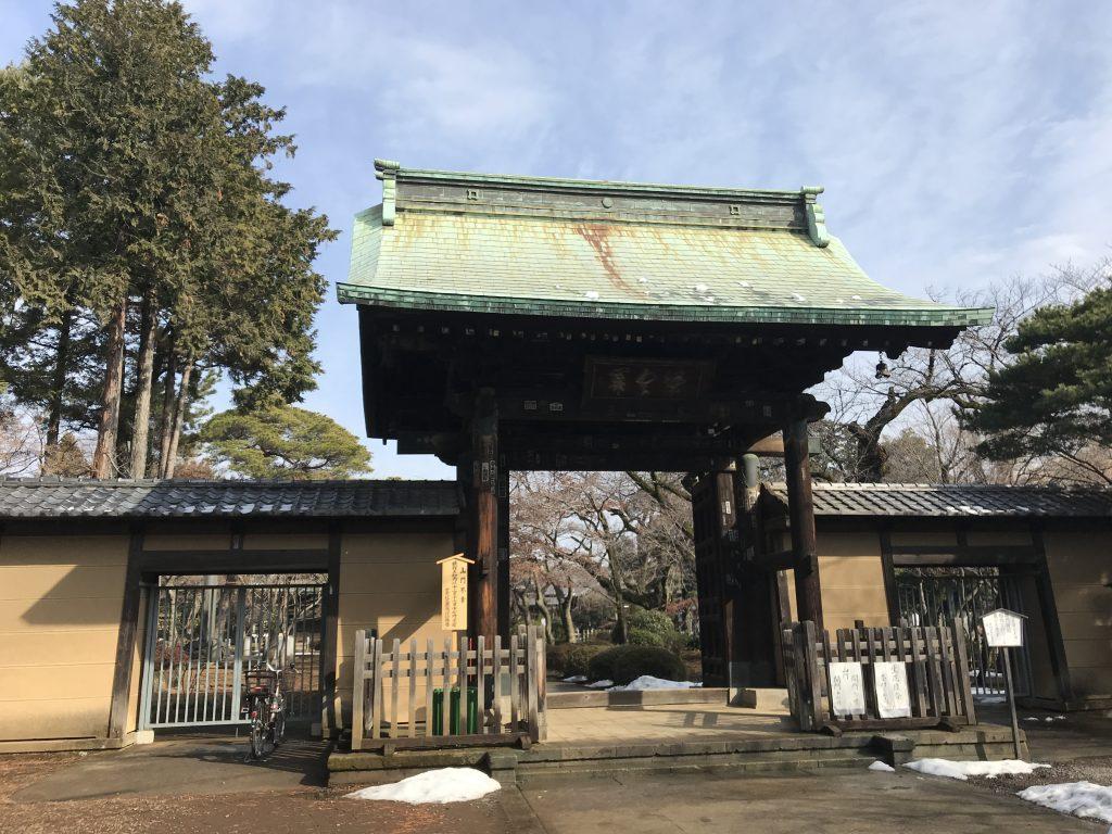 豪徳寺 山門