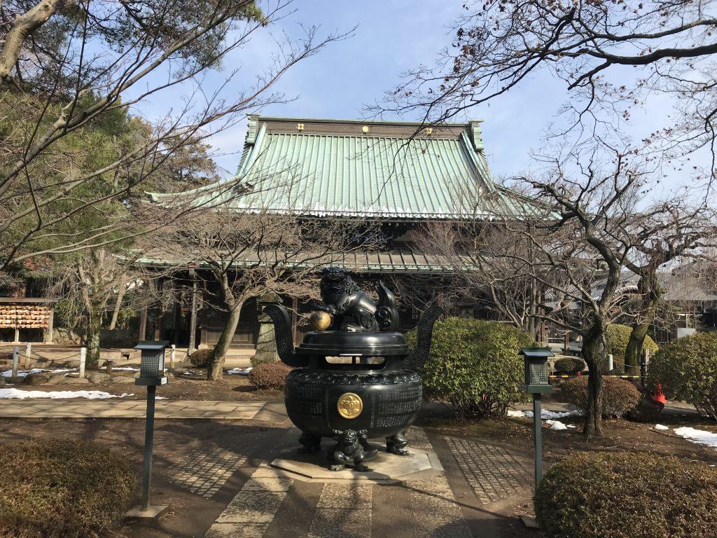 豪徳寺 香炉