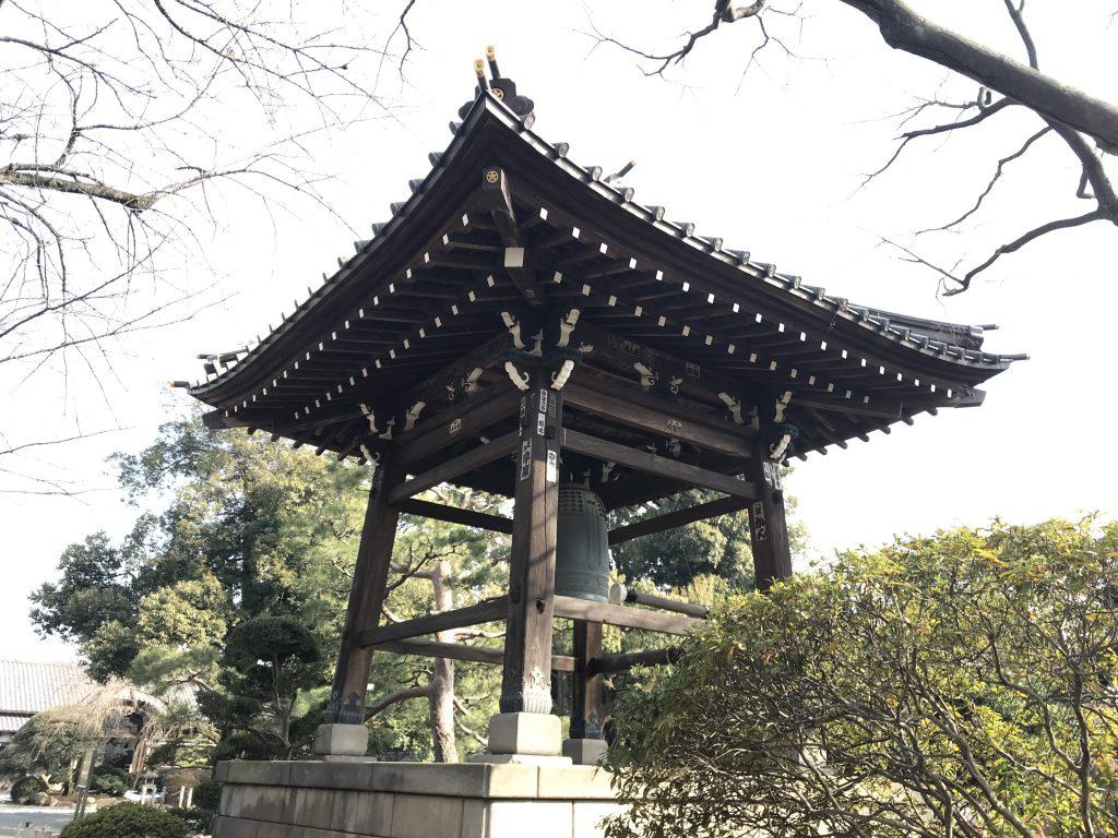 豪徳寺 梵鐘