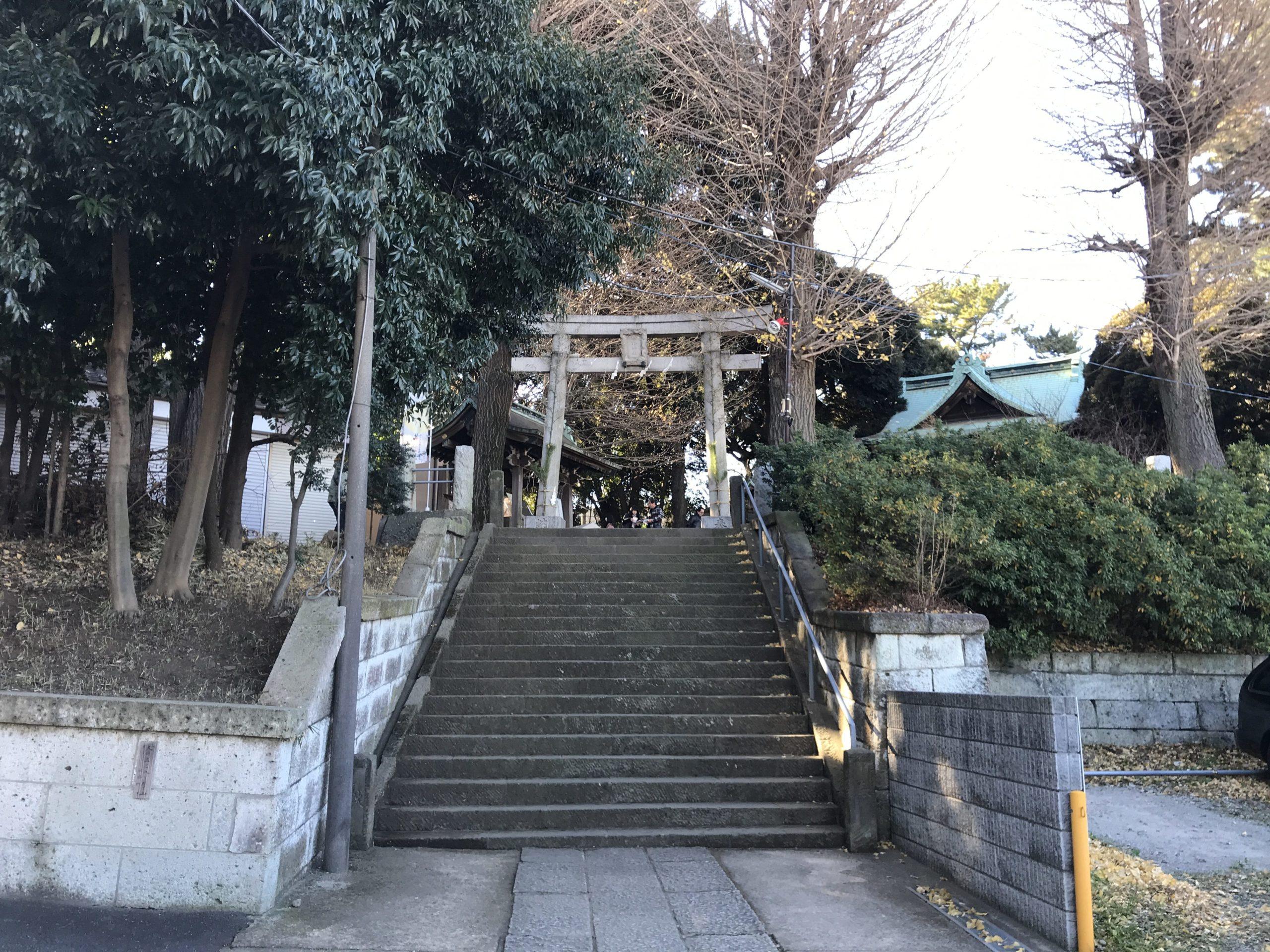 小山八幡神社 鳥居