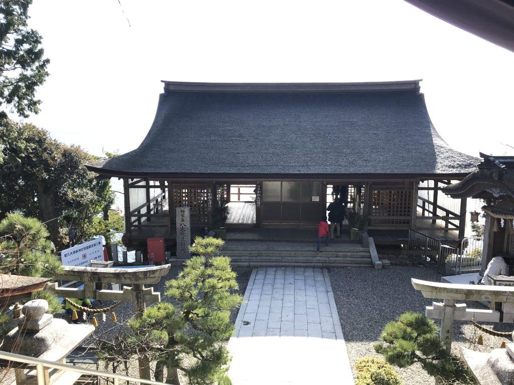 宝厳寺 竜神拝所