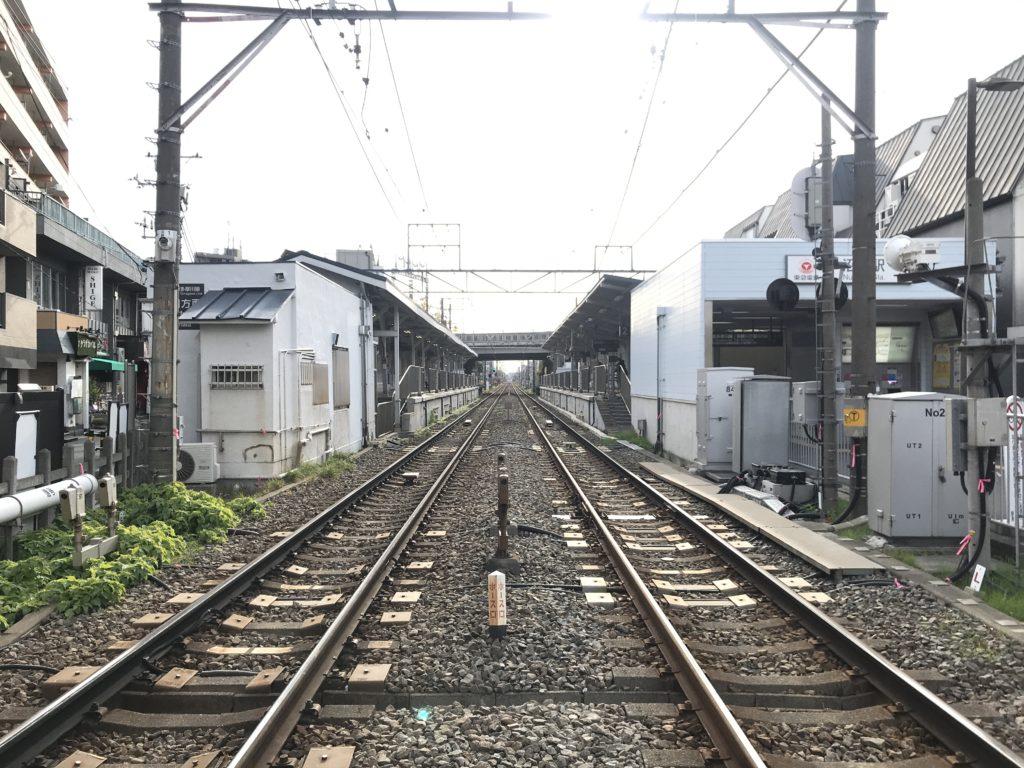 TM02_沼部駅全景