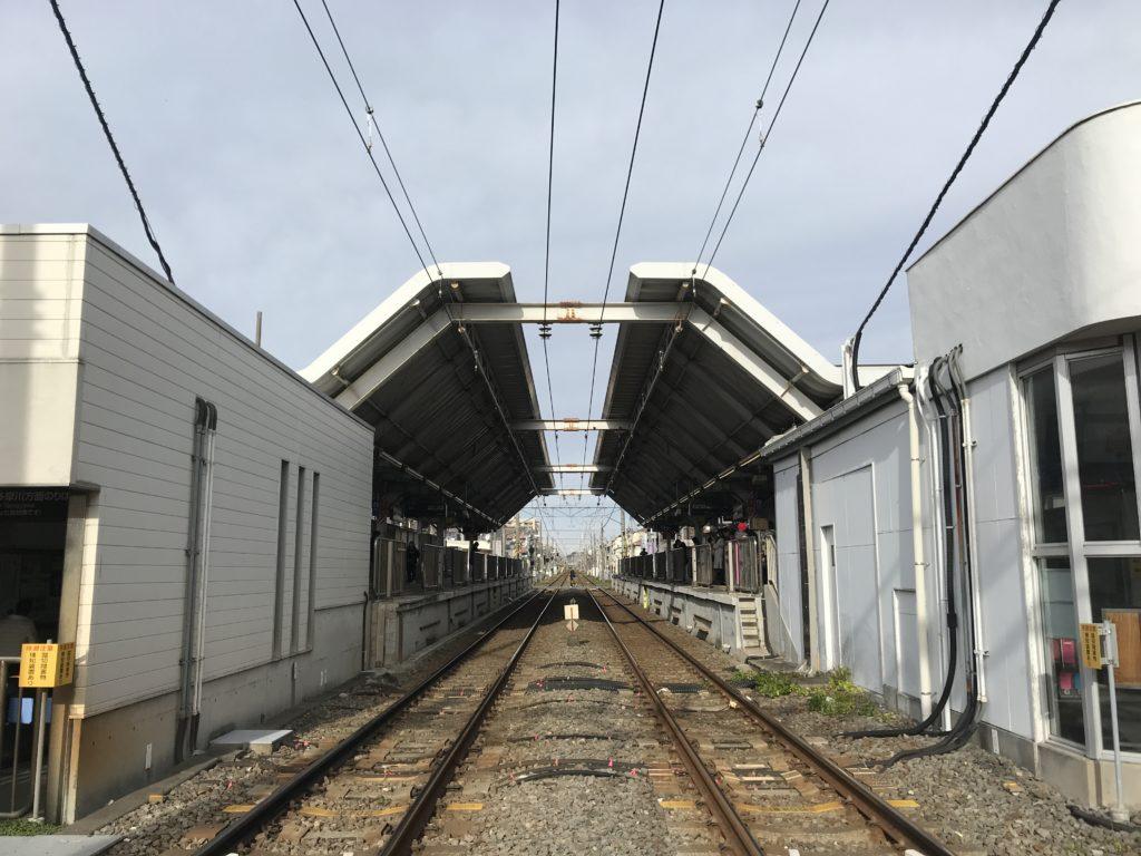 TM03_鵜の木駅全景
