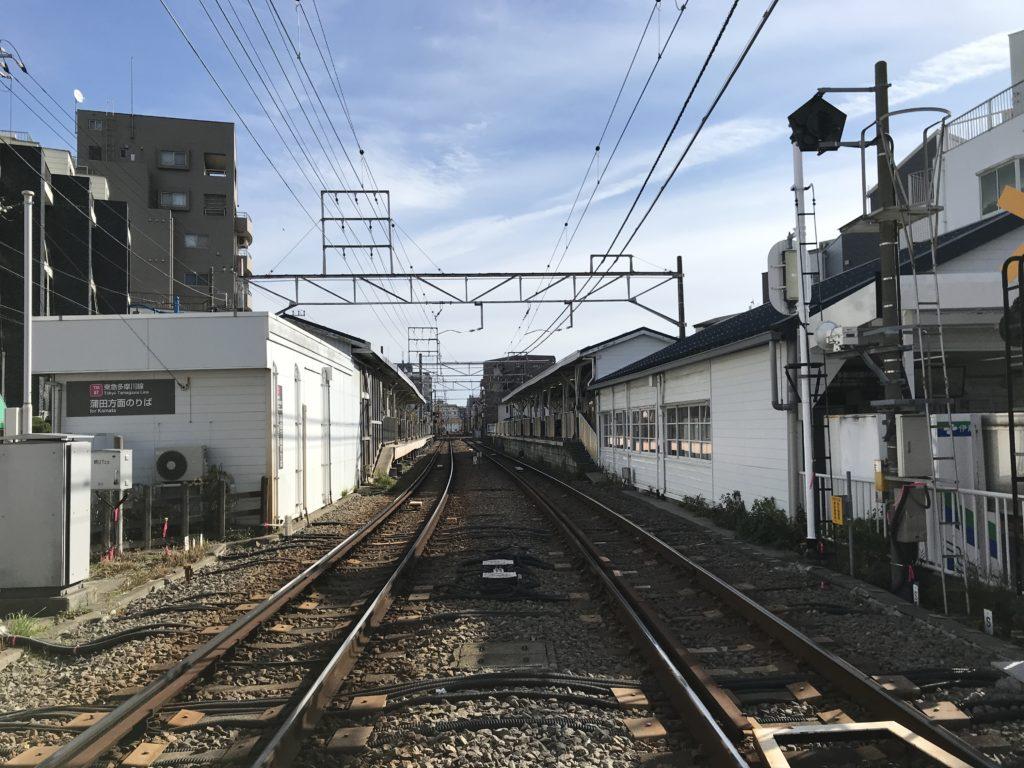 TM06_矢口渡駅全景