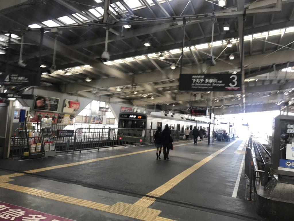 TM07_蒲田駅東急多摩川線ホーム