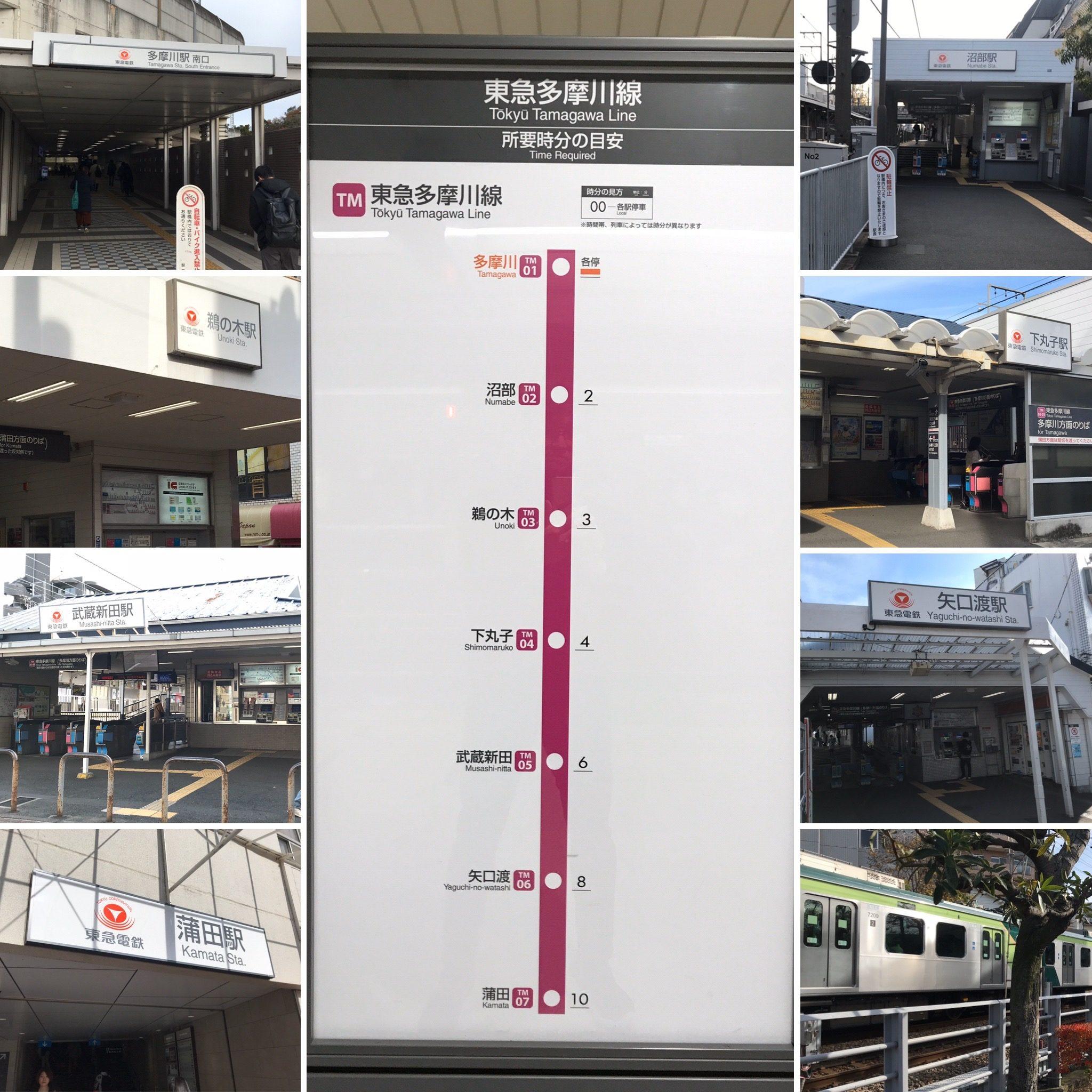 東急多摩川線(TM) 表紙