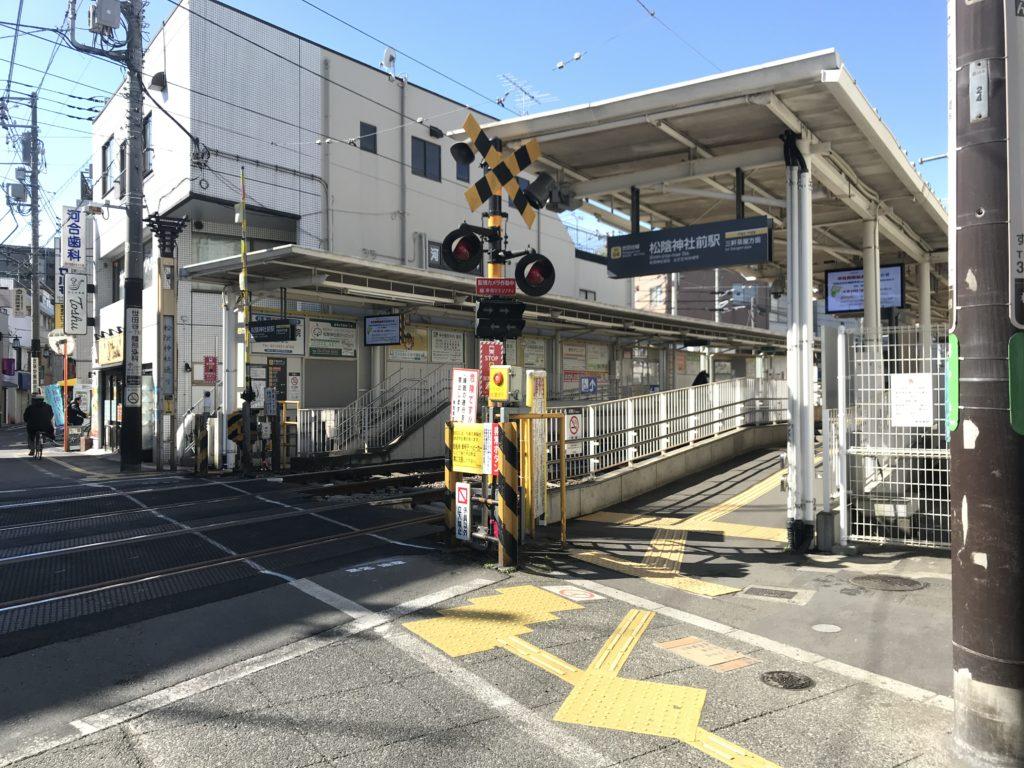 SG04_松陰神社前駅ホーム