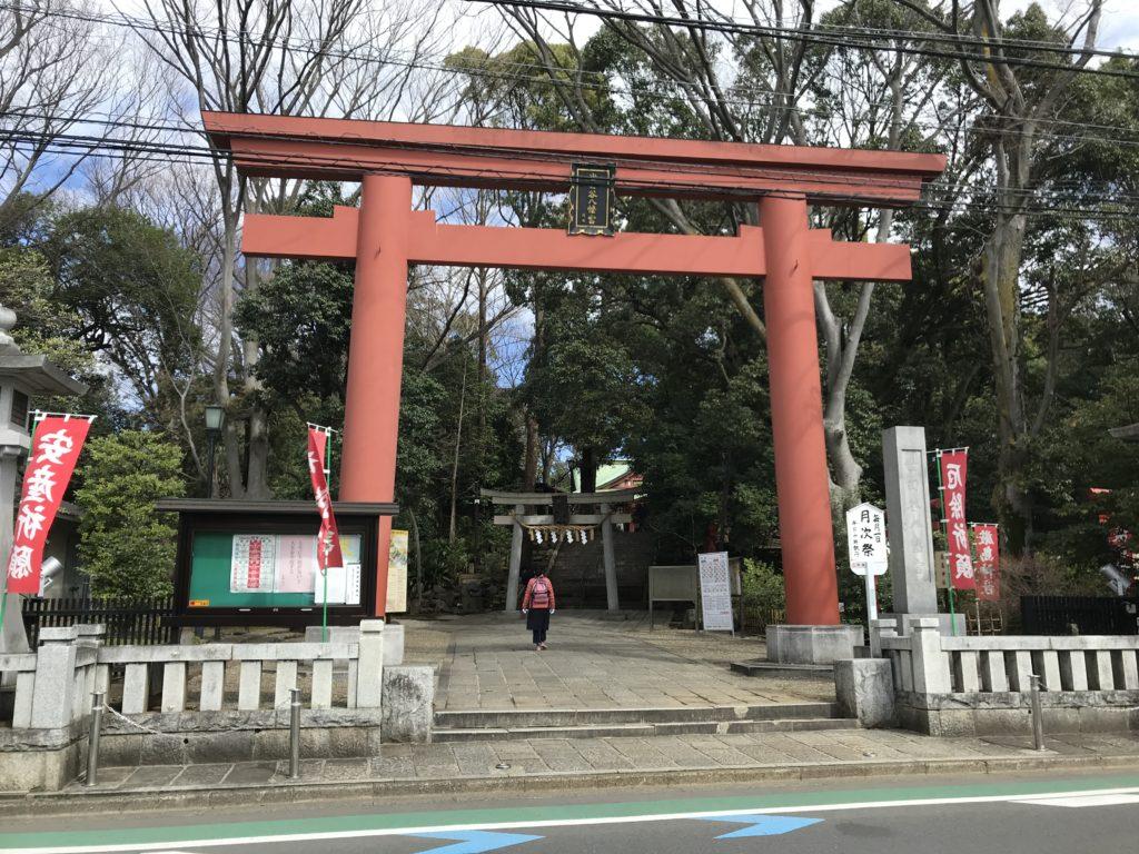 SG07_世田谷八幡宮鳥居