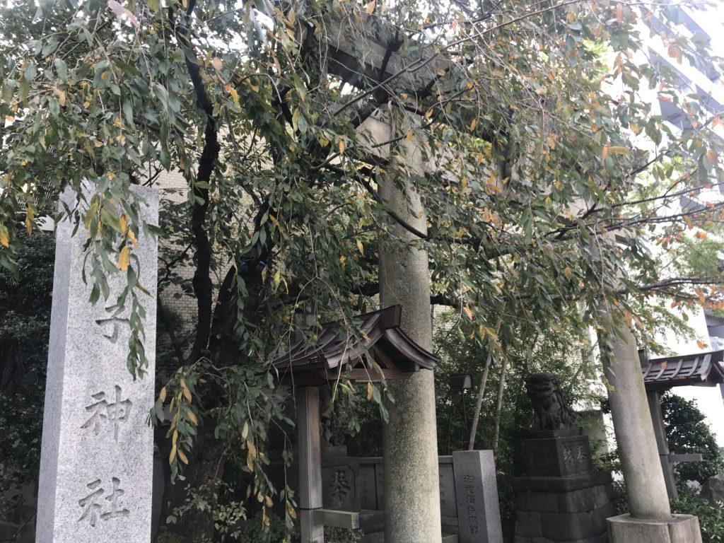 IK01_雉子神社鳥居