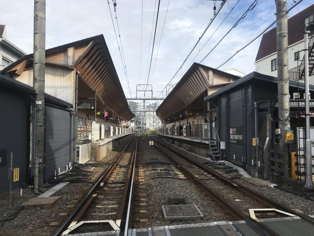 IK03_戸越銀座駅全景