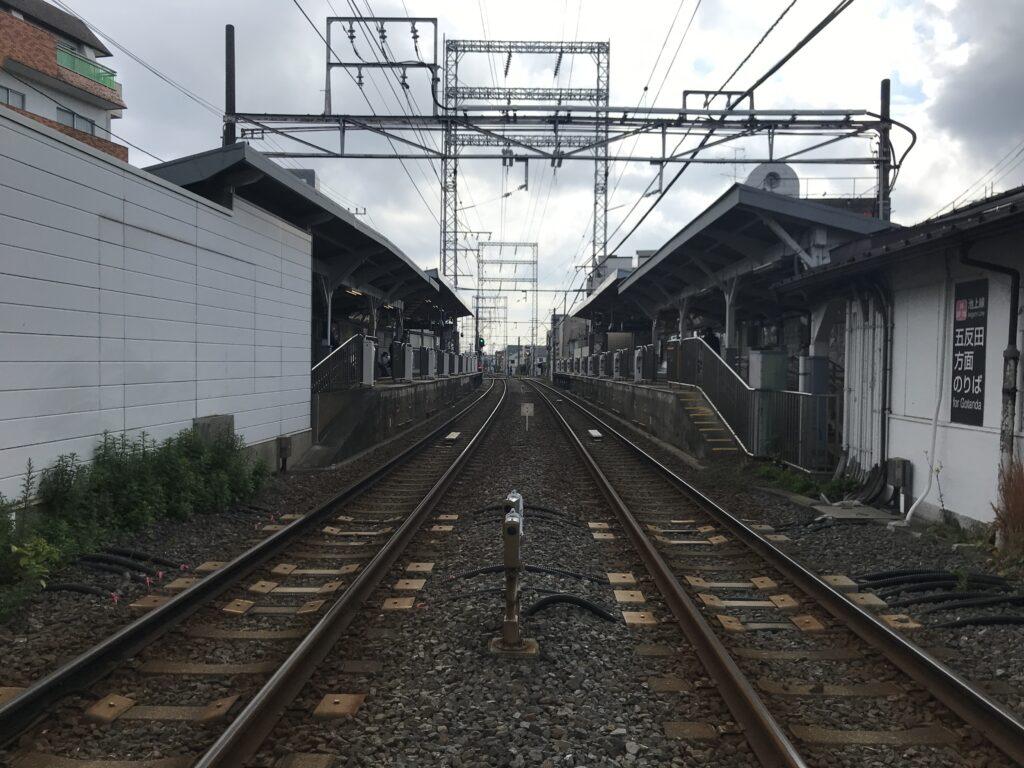 IK11_久が原駅全景