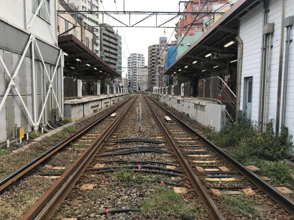 IK14_蓮沼駅全景