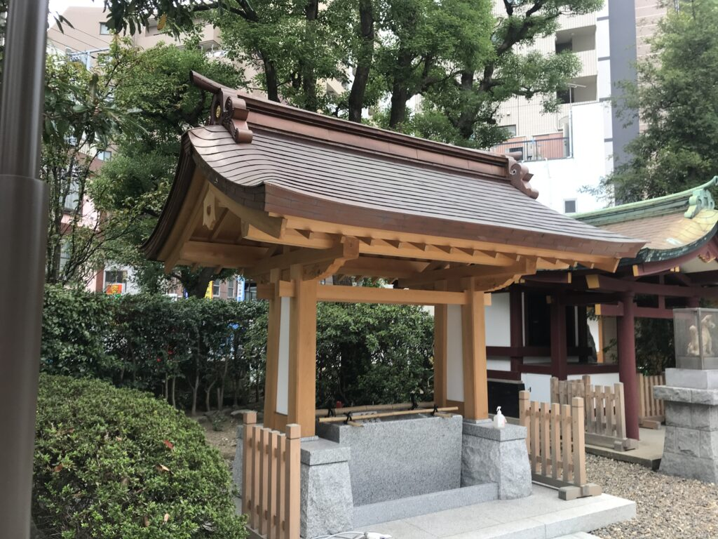 IK14_蒲田八幡神社手水舎