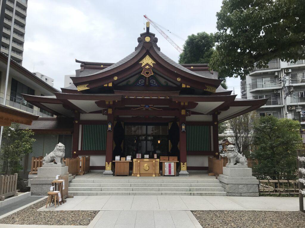 IK14_蒲田八幡神社社殿