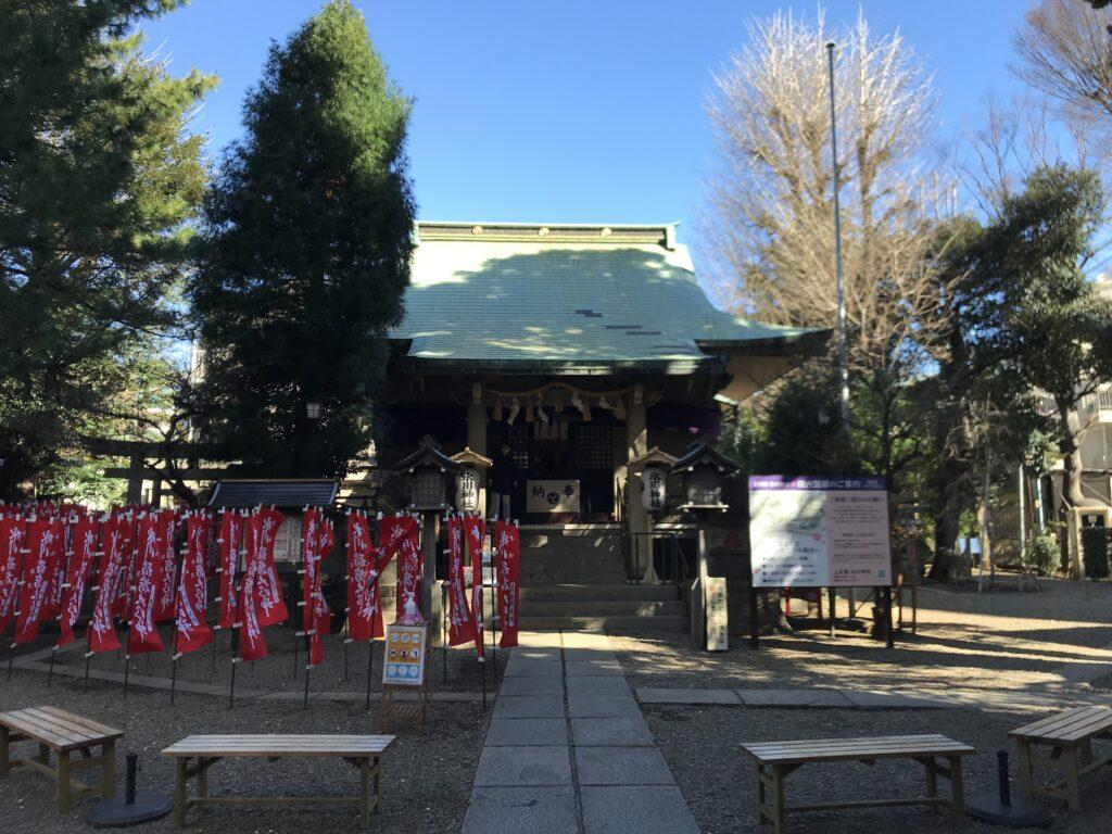 DT02_上目黒氷川神社社殿