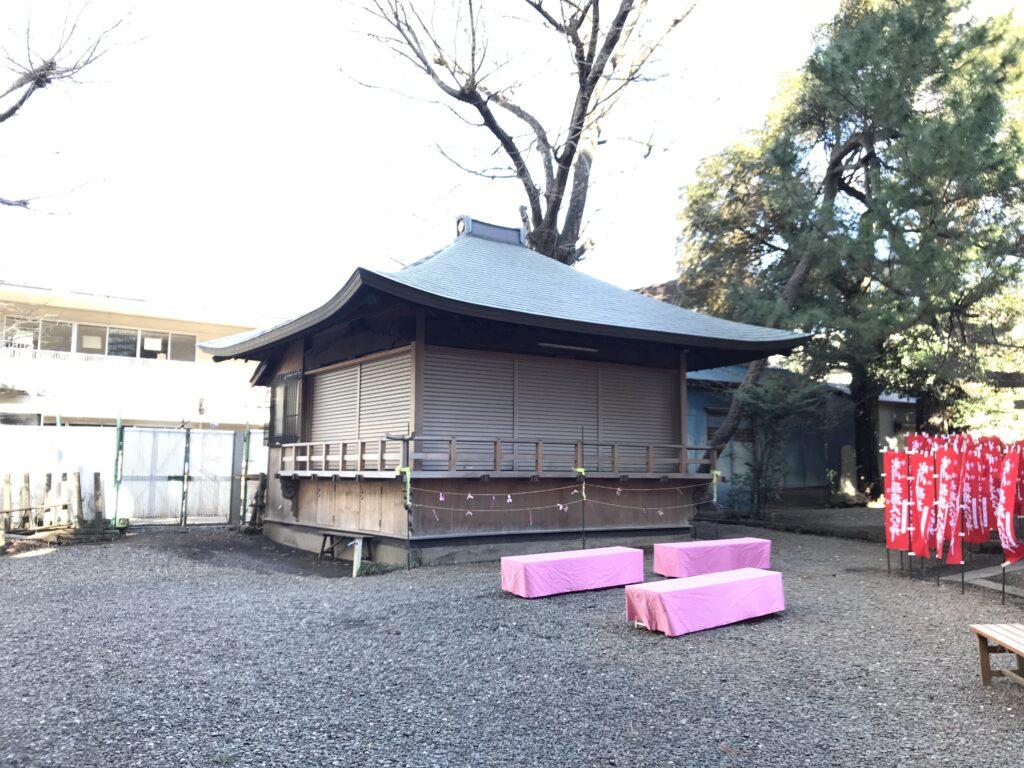 DT02_上目黒氷川神社神楽殿