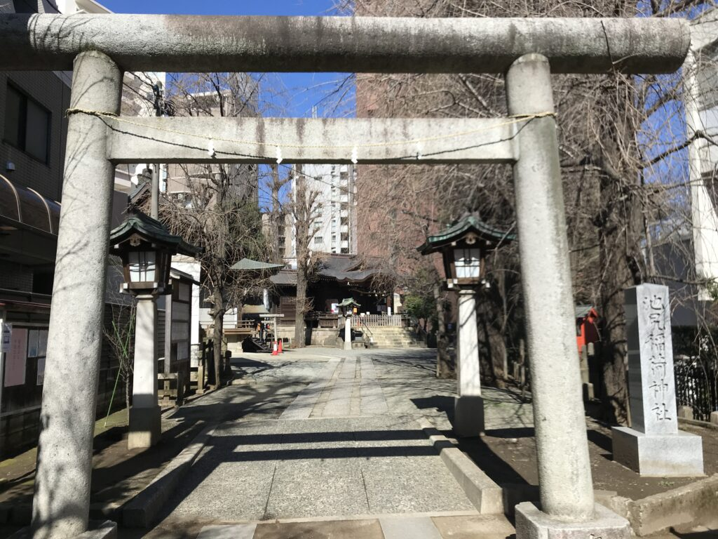 DT03_池尻稲荷神社鳥居