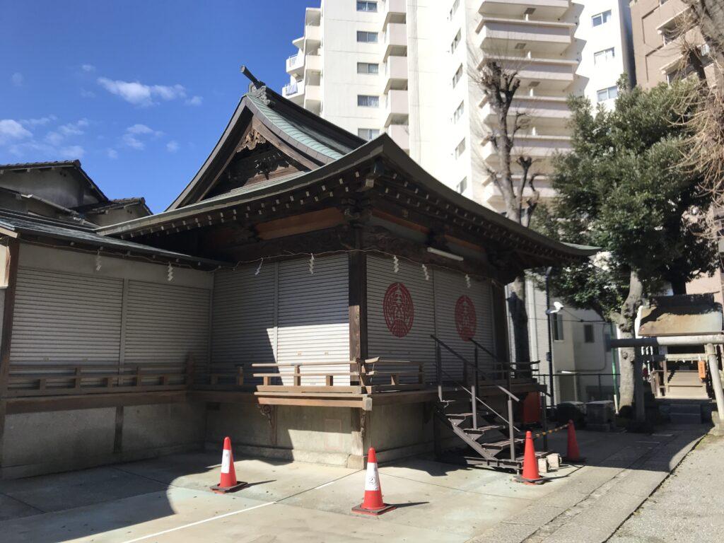 DT03_池尻稲荷神社神楽殿