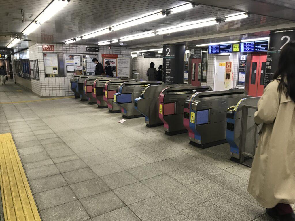 DT05_桜新町駅改札