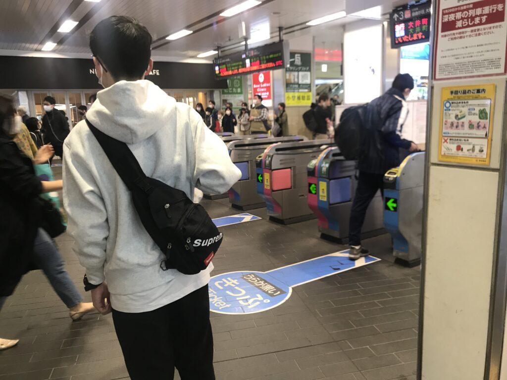 DT07_二子玉川駅改札