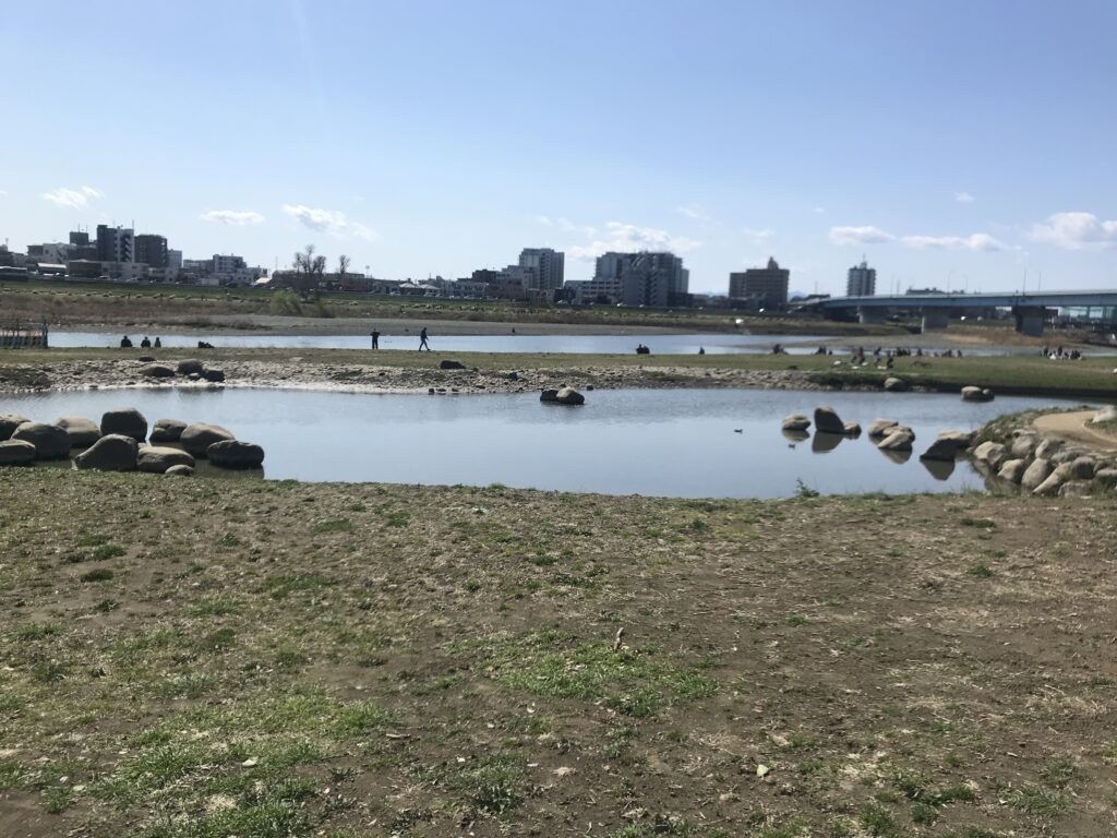 DT07_兵庫島公園兵庫池(ひょうたん池)